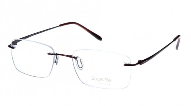 Superlite SL37 - Titanium Rimless Glasses