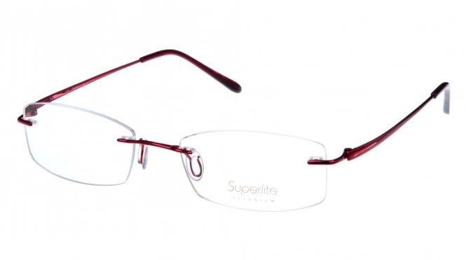Superlite SL38 - Titanium Rimless Glasses