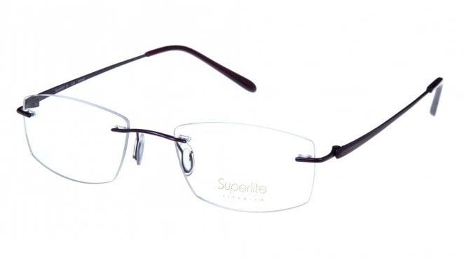 Superlite SL39 - Titanium Rimless Glasses