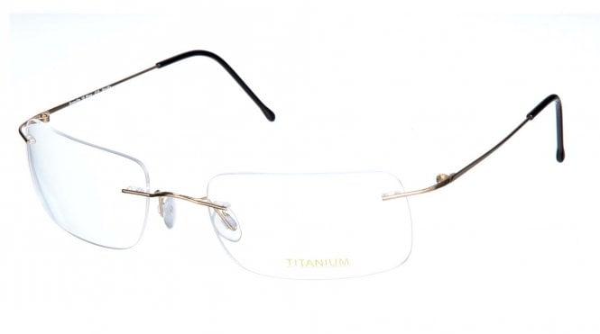 Superlite 18 Wrap - Titanium Rimless Glasses