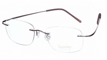 Superlite 02 - Titanium Rimless Glasses