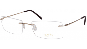 Superlite 50 - Titanium Rimless Glasses