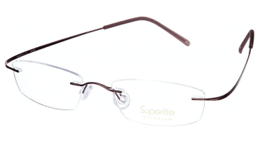 Superlite SL01 - Titanium Rimless Glasses