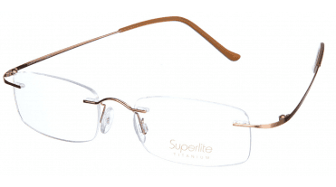 Superlite SL07 - Titanium Rimless Glasses