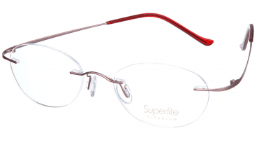 Superlite SL12 - Titanium Rimless Glasses