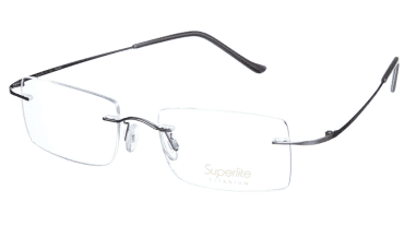 Superlite SL13 - Titanium Rimless Glasses
