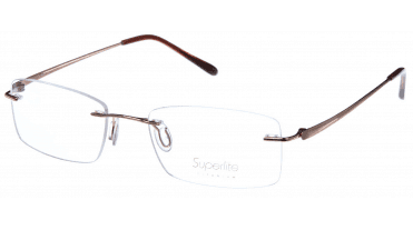 Superlite SL34 - Titanium Rimless Glasses