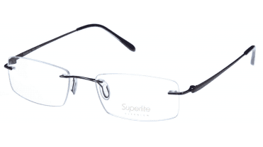Superlite SL36 - Titanium Rimless Glasses