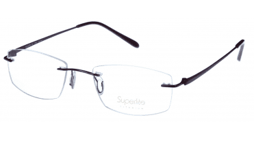 Superlite SL39 - Titanium Rimless Glasses