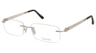 Superlite SL47 - Titanium Rimless Glasses