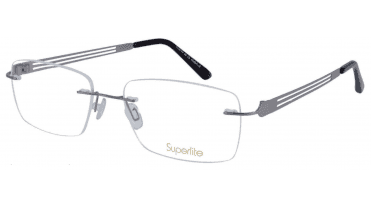 Superlite SL46 - Titanium Rimless Glasses