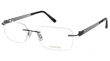 Superlite SL49 - Titanium Rimless Glasses
