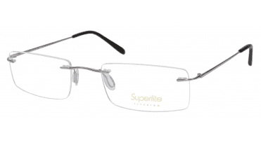 Superlite SL52 - Titanium Rimless Glasses