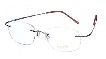 Superlite SL02 - Titanium Rimless Glasses