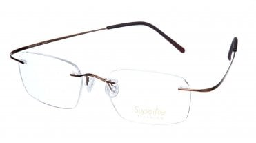Superlite SL03 - Titanium Rimless Glasses