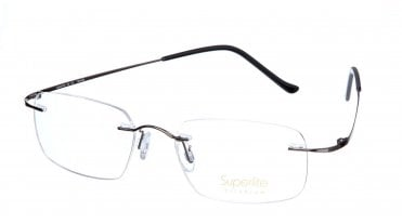 Superlite SL08 - Titanium Rimless Glasses