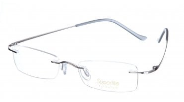 Superlite SL09 - Titanium Rimless Glasses